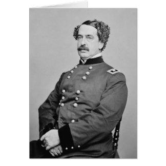 Portrait of Abner Doubleday by Mathew B. Brady Greeting Card