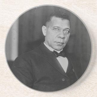 Portrait of Abolitionist Booker T. Washington Coasters