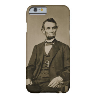Portrait of Abraham Lincoln (1809-65) (b/w photo) Barely There iPhone 6 Case