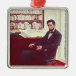 Portrait of Abraham Lincoln Christmas Tree Ornament
