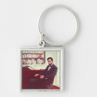 Portrait of Abraham Lincoln Keychain