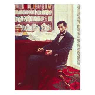 Portrait of Abraham Lincoln Postcard