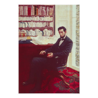 Portrait of Abraham Lincoln Poster