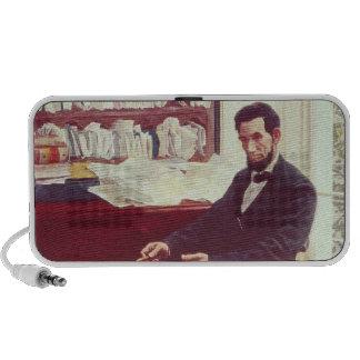 Portrait of Abraham Lincoln Mp3 Speaker