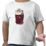 Portrait of Abraham Lincoln T-shirts