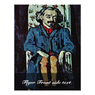 Portrait Of Achille Emperaire By Paul Cézanne Flyers