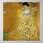 Portrait of Adele Bloch-Bauer I - Gustav Klimt Poster