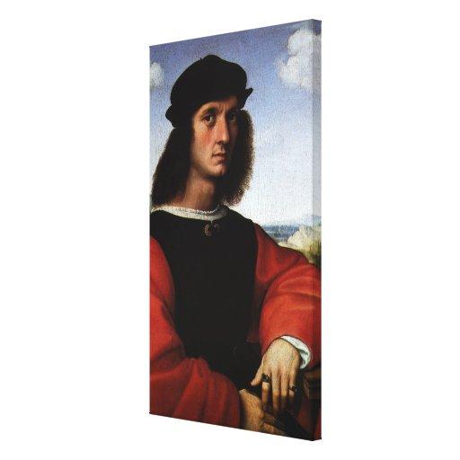 Portrait of Agnolo Doni by Raphael or Raffaello