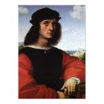 Portrait of Agnolo Doni by Raphael or Raffaello Personalized Announcement