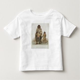 Portrait of Akaitcho and his Son, from 'Narrative T Shirts