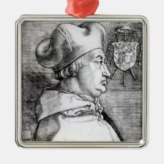 Portrait of Albert, Cardinal Elector of Mainz Christmas Ornament