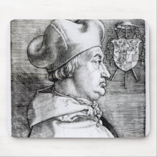 Portrait of Albert, Cardinal Elector of Mainz Mouse Mat