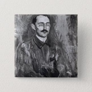 Portrait of Albert Marquet 15 Cm Square Badge
