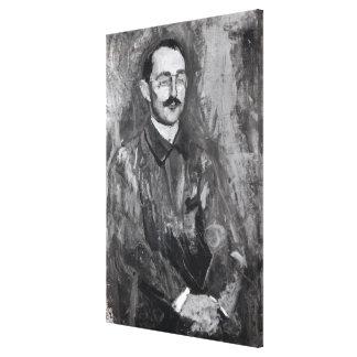 Portrait of Albert Marquet Canvas Print