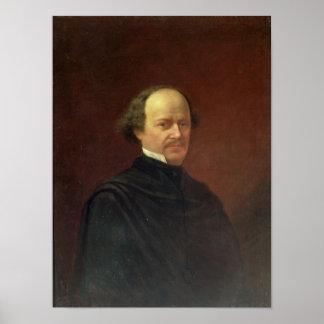 Portrait of Alexander Dargomyzhski, 1869 Poster
