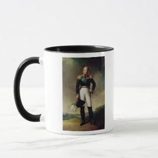 Portrait of Alexander I  1814 Mug