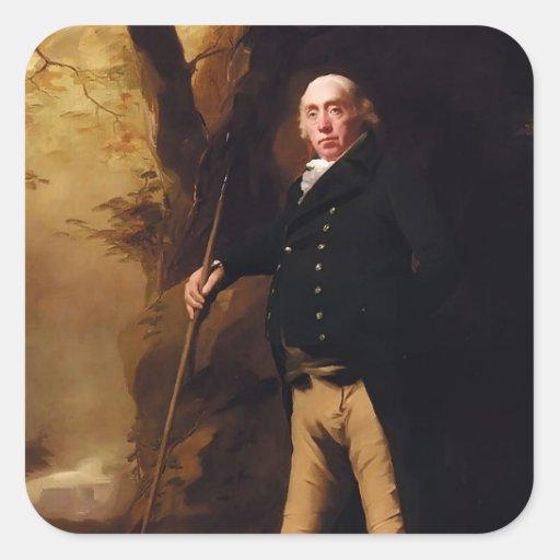Portrait of Alexander Keith by Henry Raeburn Sticker