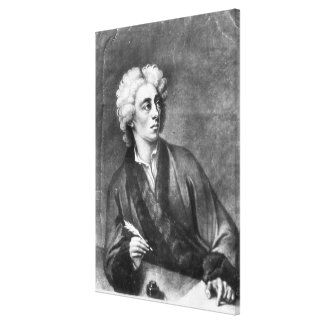Portrait of Alexander Pope Gallery Wrap Canvas