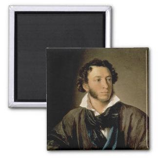 Portrait of Alexander Pushkin Magnet