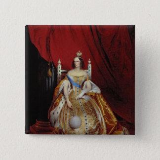 Portrait of Alexandra FyodorovnaI 15 Cm Square Badge