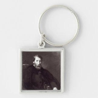 Portrait of Alfred Bruyas Keychains