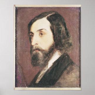 Portrait of Alfred de Musset Poster
