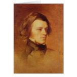 Portrait of Alfred Lord Tennyson Card