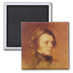 Portrait of Alfred Lord Tennyson Magnet