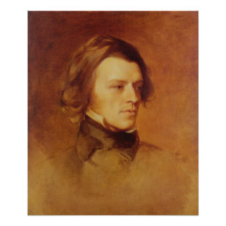 Portrait of Alfred Lord Tennyson Poster