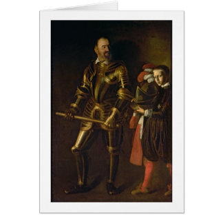 Portrait of Alof de Wignacourt, Grand Master of th Greeting Card