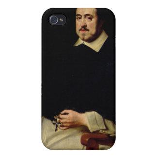 Portrait of Ambrosius Cappelus iPhone 4/4S Cases