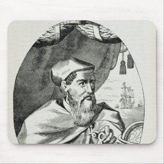 Portrait of Amerigo Vespucci Mouse Mat