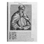 Portrait of Amerigo Vespucci Postcards