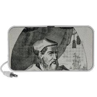 Portrait of Amerigo Vespucci Travelling Speakers
