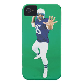 Portrait of an American Football Player Case-Mate iPhone 4 Case