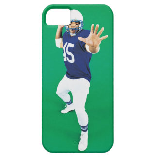 Portrait of an American Football Player iPhone 5 Cases