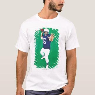 Portrait of an American Football Player T-Shirt