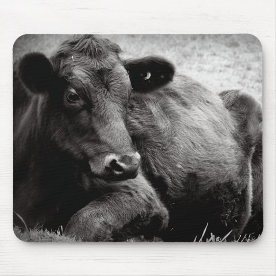 Portrait of an Angus Mouse Mat