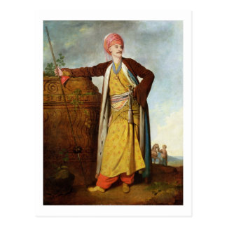 Portrait of an Armenian, 1771 (oil on canvas) Postcard