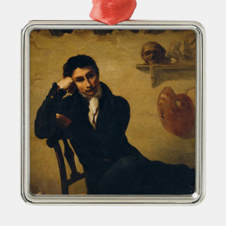 Portrait of an Artist in his Studio Christmas Ornament