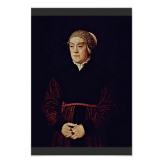 Portrait Of An Elderly Lady By Neufchâtel Nicolas Posters
