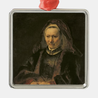 Portrait of an Elderly Woman, c. 1650 Christmas Ornament