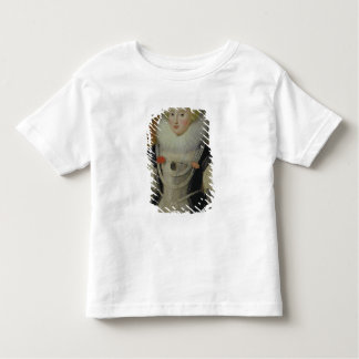 Portrait of an Elizabethan Lady with a Parrot Shirt