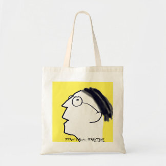 Portrait of an Existentialist Tote Bag