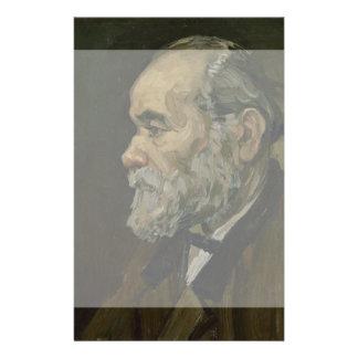 Portrait of an Old Man by Vincent Van Gogh Flyer