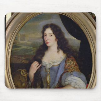 Portrait of an Unknown Learned Woman in Front Mouse Mat