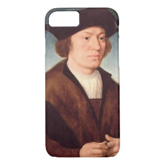 Portrait of an Unknown Man, 1520 (oil on panel) iPhone 8/7 Case