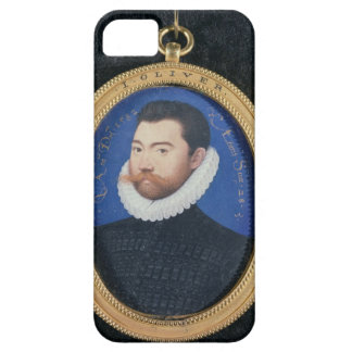 Portrait of an unknown man, aged 28, 1582 (w/c on barely there iPhone 5 case