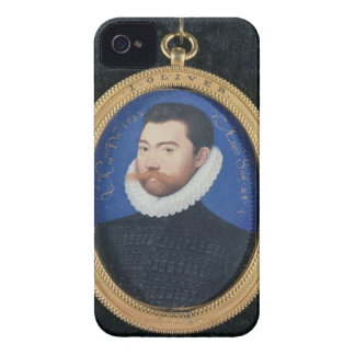 Portrait of an unknown man, aged 28, 1582 (w/c on iPhone 4 Case-Mate case