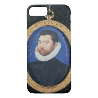 Portrait of an unknown man, aged 28, 1582 (w/c on iPhone 8/7 case